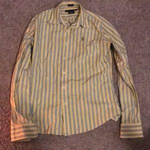 Ralph Lauren Yellow Oxford Shirt